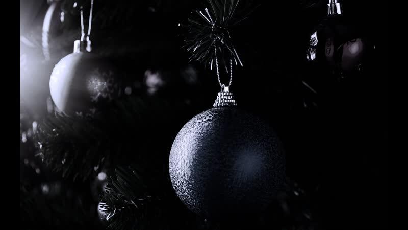 Темные Новогодние Обои На Рабочий Стол