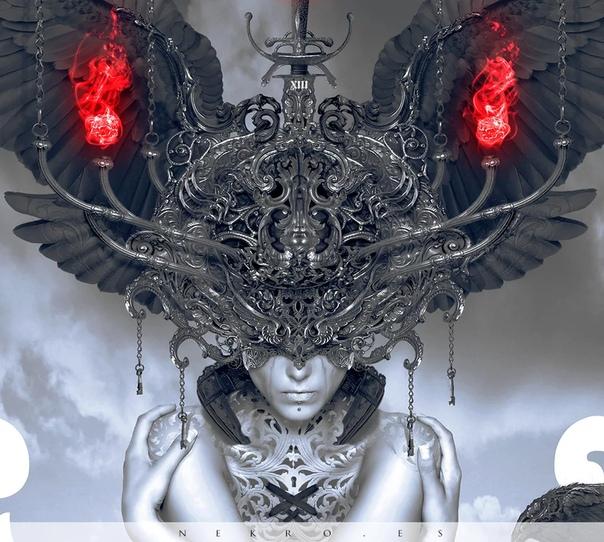 Испанский художник Nero может быть известен любителям видеоигр, даже если они никогда о нем не слышали его работу можно увидеть в Mortal Shell, Blasphemous и прочих мрачных играх Он занимается