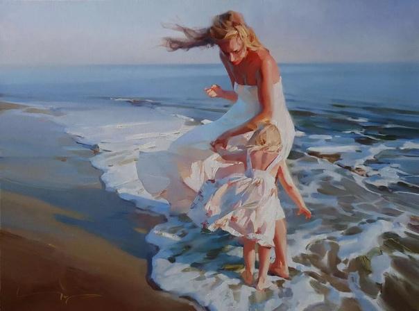 Экспрессивная романтика Алексея Чернигина На большинстве картин Алексея Чернигина маслом на холсте запечатлены красота, романтика и мгновения истинных чувств. Свой талант и тягу к искусству
