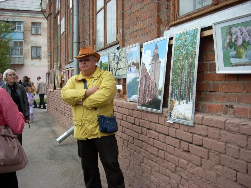 Выставка «Аллея художников 2», 2010 г.