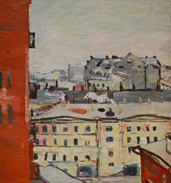 Константин Истомин (18871942) «Вид из окна». Конец 1920-х - начало 1930-х гг.