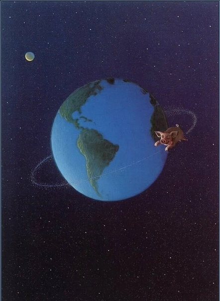 Художник Михаэль Сова родился в 1945 году в Германии