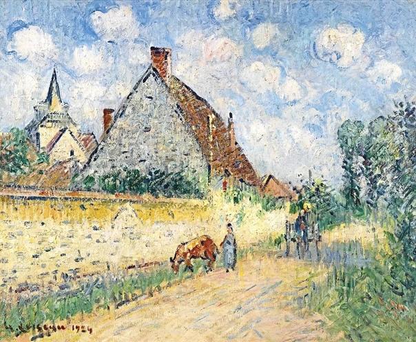 Французский художник-постимпрессионист Гюстав Луазо (1865-1935) Гюстав Луазо (фр. Gustave Loiseau) родился в Париже в 1865 году. В юношеские годы он учился у декоратора, друга его родителей.В