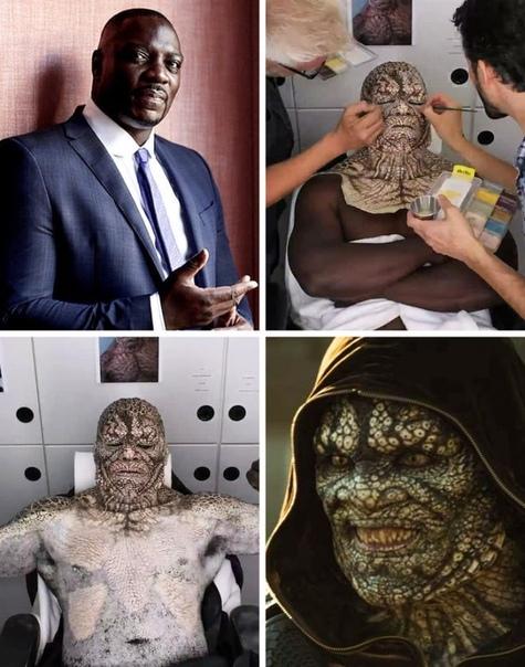 Редкие снимки, на которых запечатлены поразительные превращения актеров в персонажей. Частенько даже обычный мейкап кардинально меняет внешность. Что уж говорить о чудесах, которые способен