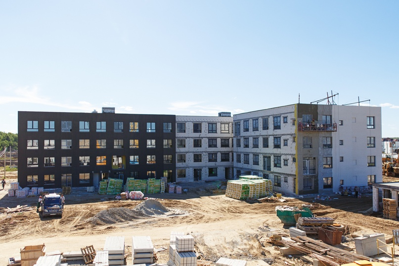 Отчет о ходе строительства квартала «Среда» июнь 2020, изображение №20