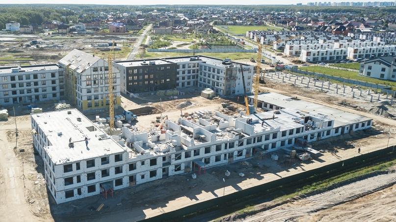 Отчет о ходе строительства квартала «Среда» июнь 2020, изображение №24