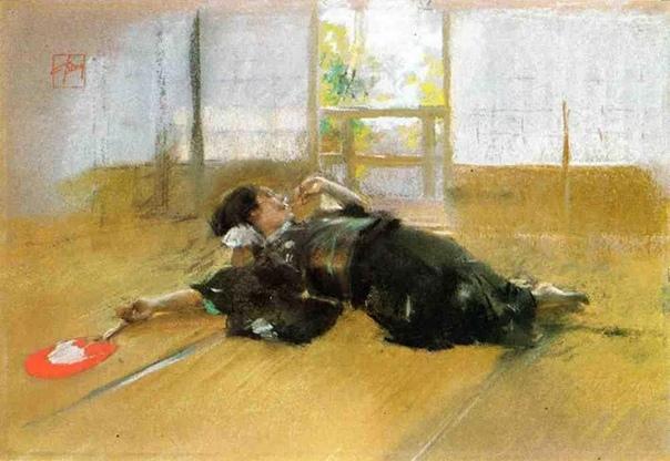 Роберт Фредерик Блюм родился художник в 1876 году в Цинциннати, штат Огайо.
