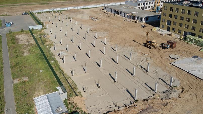Отчет о ходе строительства квартала «Среда» июнь 2020, изображение №27