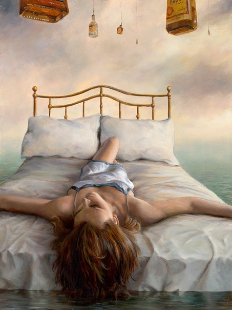 Vincent Cacciotti. Характеристики работ художника: - ярко выраженные эксперименты с цветовыми оттенками; - уникальность сюрреалистических деталей и парадоксов; - присутствие женских образов как