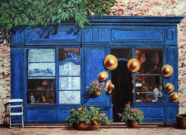"""Художник Гвидо Борелли в своих """"теплых"""" и по-настоящему эмоциональных картинах изображает пейзажи самого сердца Италии  Тоскану"""