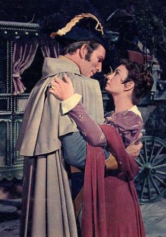 """Костюмы фильма """"Любовь императора Франции"""" (1954)."""