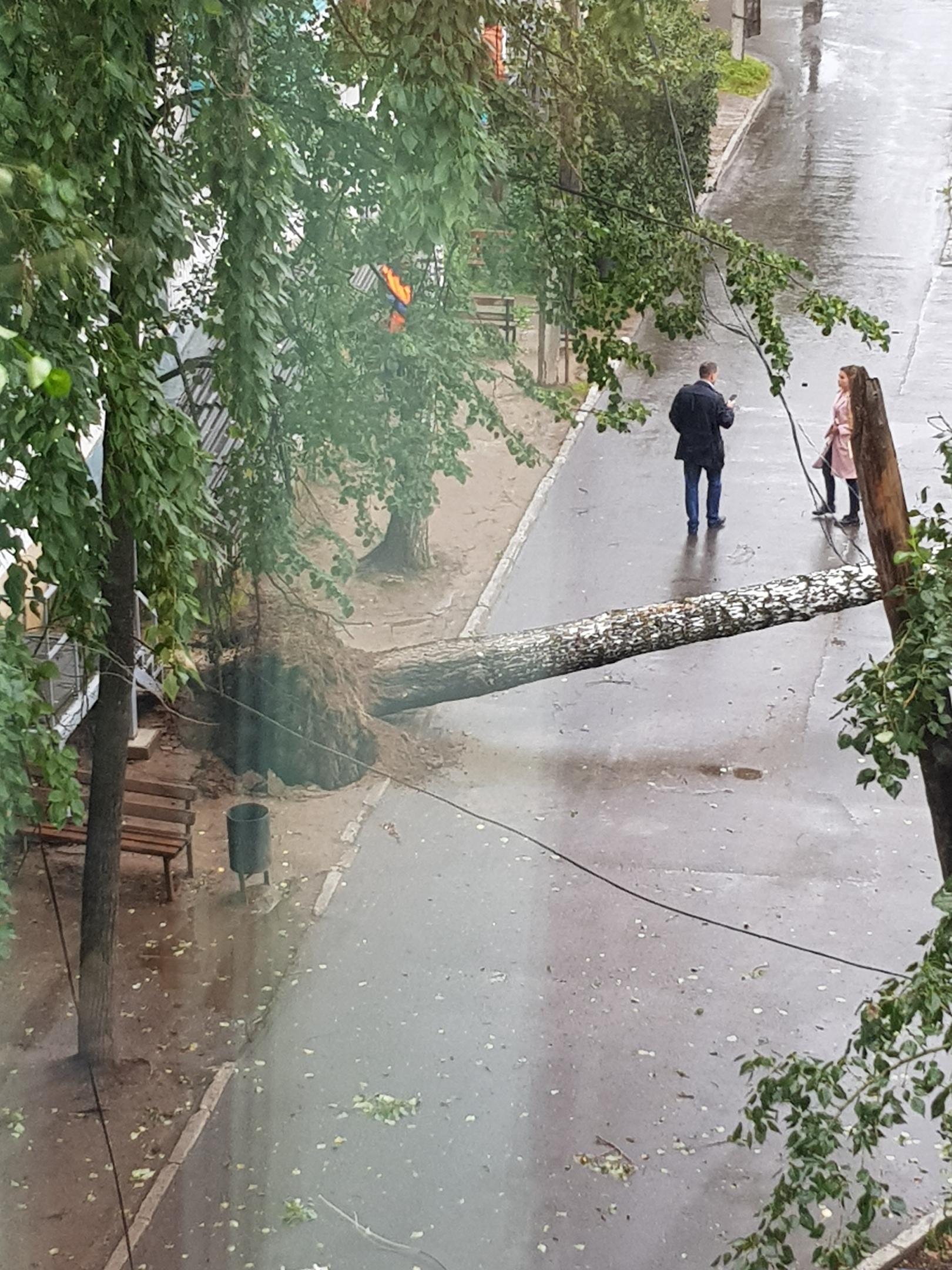 погода, ураган, чайковский район, 2019 год