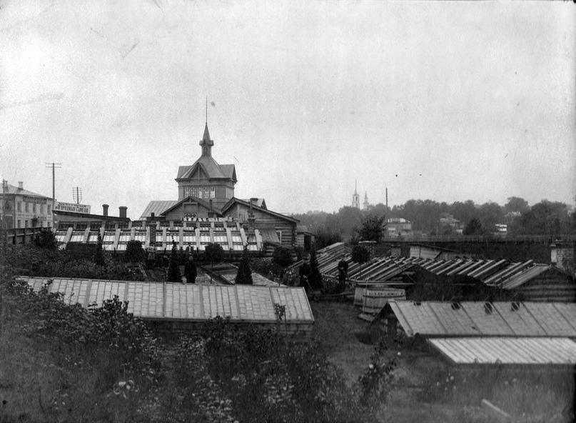 В саду Рудобельского. 1920-е гг.