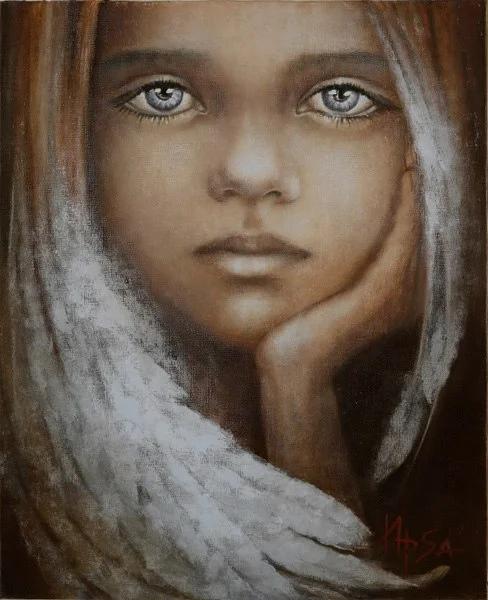 Ирина Сергеева работает под псевдонимом ИРSА. Ирина родилась в 1963 году в Москве. Высшее образование получила по архитектуре, однако, ещё с детства увлекаясь художественным творчеством, решила