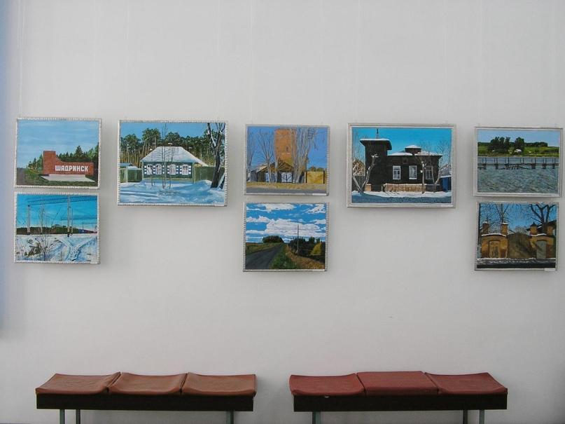 Персональная выставка Беляева А. И., 2010 г.