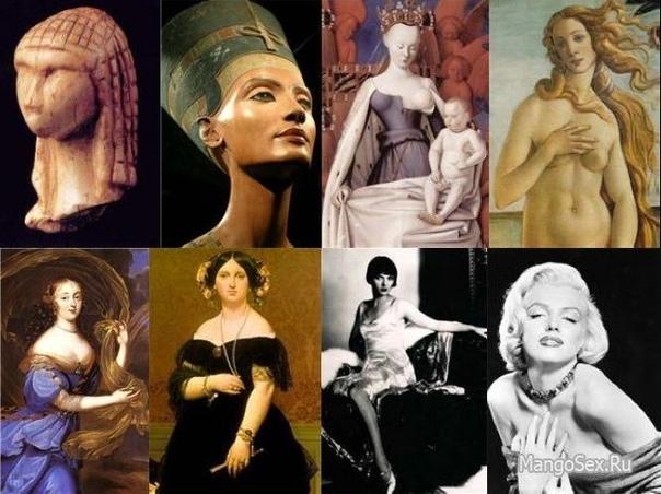 Какие женщины в разное время считались красивыми 10 место: Идеалом красоты Древнего Египта была стройная и грациозная женщина с полными губами и огромными миндалевидными глазами. Чтобы расширить