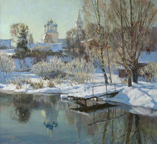 Диана Коробкина. Стиль этой художницы близок к русскому импрессионизму. Ее вдохновляет неповторимость каждого мгновения изменчивой природы, а также, как она сама признается, нравится все, что