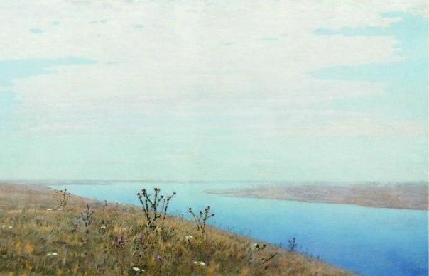 Удивительны речные просторы Архипа Куинджи. Порой они не явные, а словно скрытые в пейзаже...