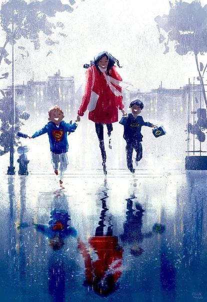 Паскаль Кэмпион французско-американский иллюстратор и аниматор, создающий прекрасные произведения искусства Часто Паскаль создает картины, тематикой которых являются дети, давайте узнаем, что
