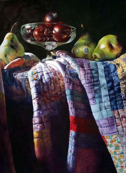 Яркие, сочные и невероятно точные акварельные натюрморты современного американского художника Крис Крупински