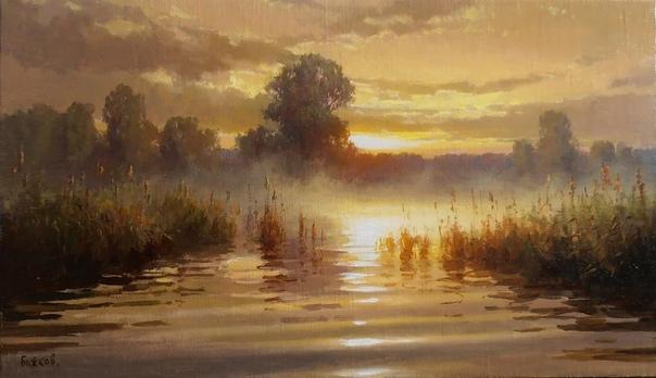 Божков Роман Александрович современный русский художник пейзажист Родился в 1980 году, в городе Шебекино, Белгородской области. В 1993 году окончил детскую школу искусств, а в 1999 Шебекинское
