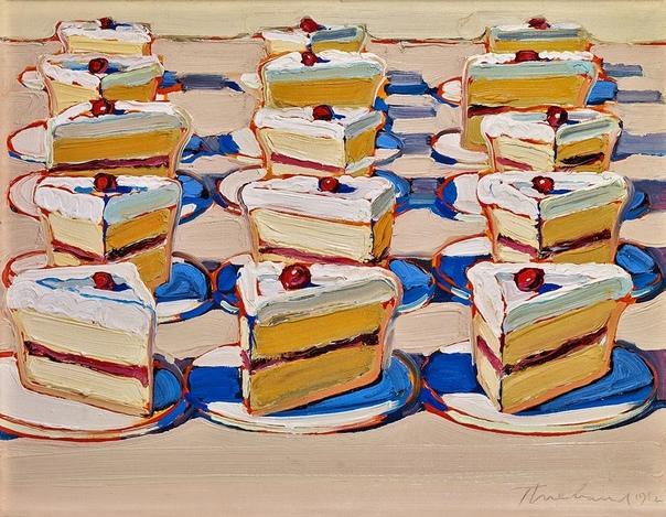 Творчество Уэйна Тибо чаще всего относят к поп-арту, хотя сам художник считает себя просто старомодным художником, а не поп-артистом с карточкой Он остается самым известным художником, который