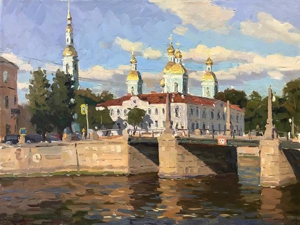 Санкт-Петербург в этюдах Андрея Дареева.