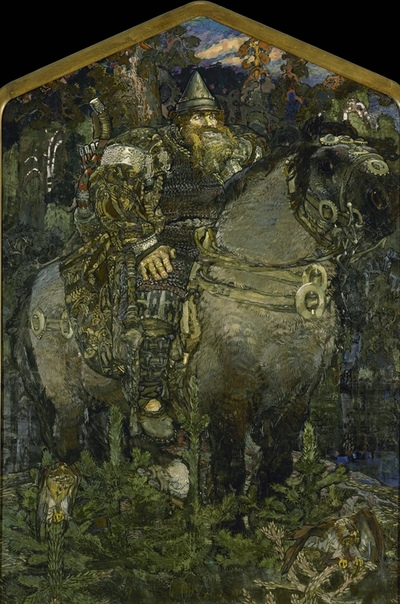 Богатырь», Михаил Александрович Врубель
