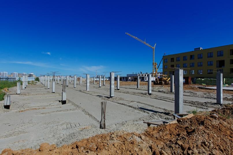 Отчет о ходе строительства квартала «Среда» июнь 2020, изображение №26