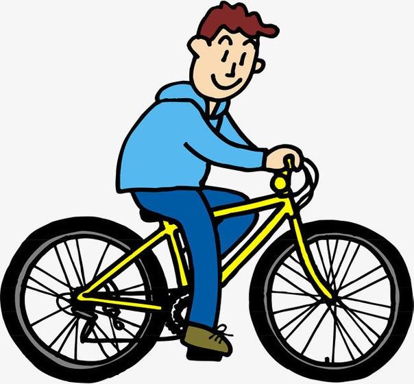 Велосипедист в картинках для детей