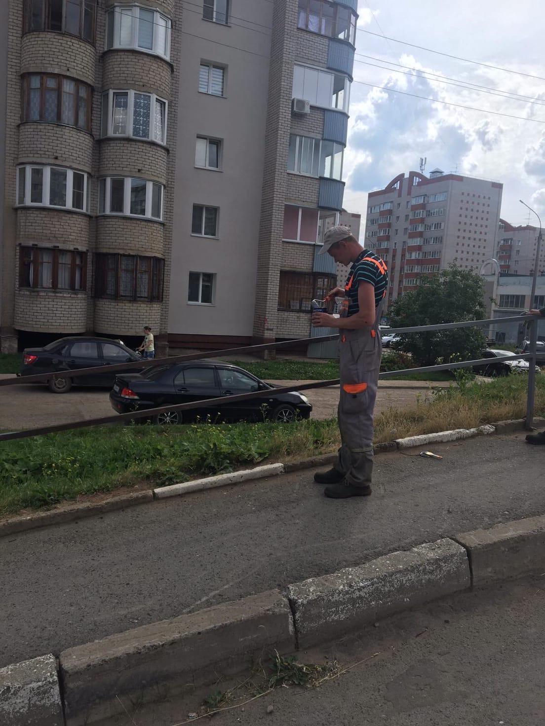 Улица Упита дом 3 покраска и ремонт