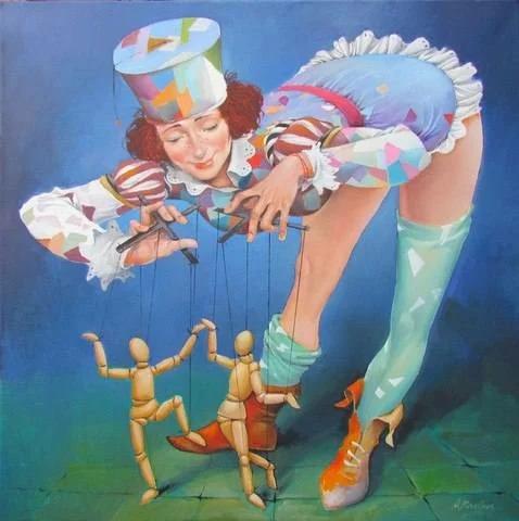 Художник Андрюс Ковелинас родом из Литвы, родился в 1958 году