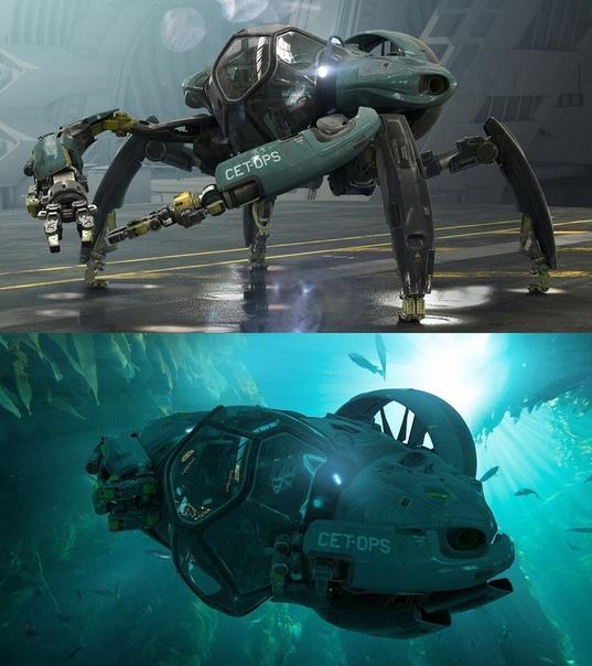 Продюсер Джон Ландау опубликовал концепт новой техники из сиквелов «Аватара»