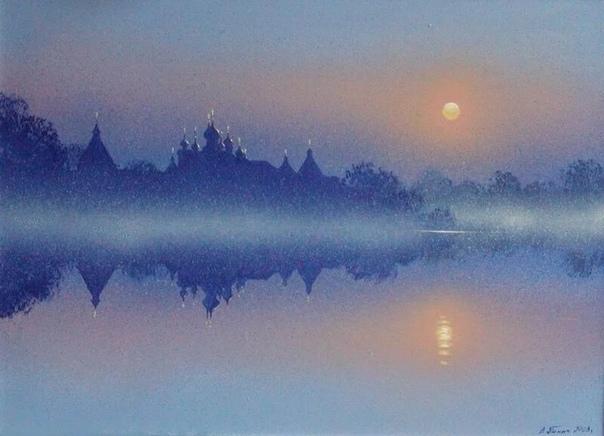 Украинский художник Владимир Панич создает свои картины в разных жанрах и стилях, но предпочитает жанр пейзаж в стиле реализм или импрессионизм