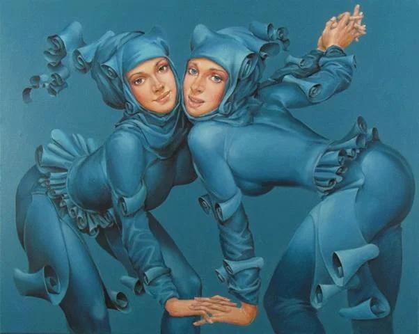 Художник Андрюс Ковелинас родом из Литвы, родился в 1958 году В течение последних лет живёт и работает в Ирландии. После последовавшего за первыми выставками успеха, Андрюс в течение многих лет